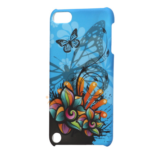 Sommerfugl Flora Hard Case til iPod Touch 5