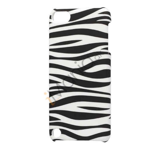 Zebra Striber Plastic Cover Case til iPod Touch 5