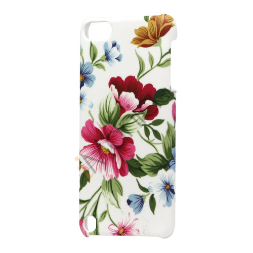 Image of   Farvelagt Blomster Hard Plastic Case Cover til iPod Touch 5
