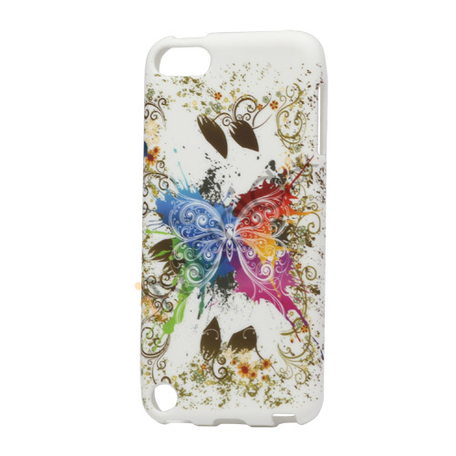 Image of   Farverige Sommerfugle TPU Cover til iPod Touch 5