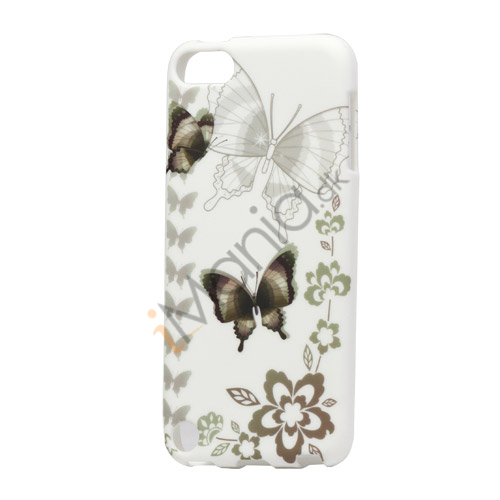 Sommerfugle TPU Gel Cover til iPod Touch 5