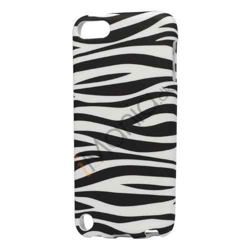 Vandret Zebra Mønster iPod Touch 5 TPU Gel Case