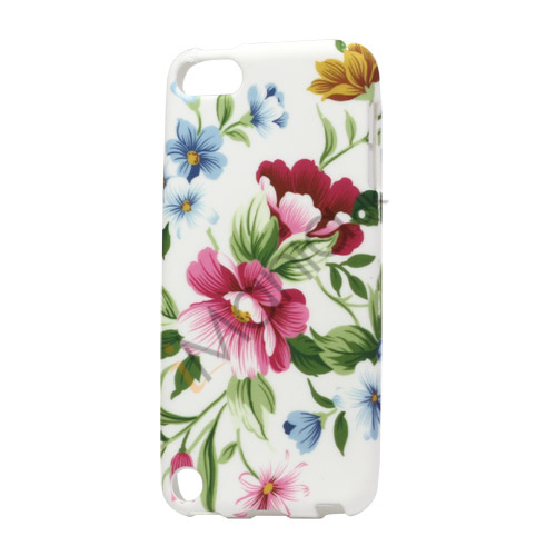 Smukke blomster iPod Touch 5 TPU Gel Cover