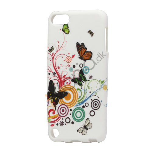 Image of   Farverige Sommerfugle TPU Gel Cover til iPod Touch 5