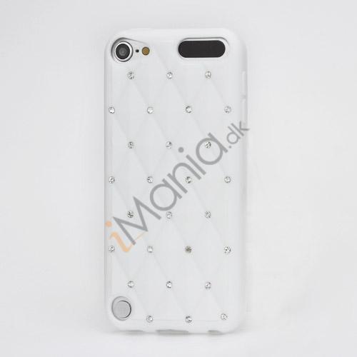 Smykkepræget Silicone Skin Case til iPod Touch 5 - Hvid