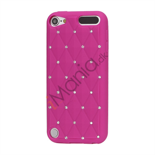 Image of   Smykkepræget Silicone Skin Case til iPod Touch 5 - Rose