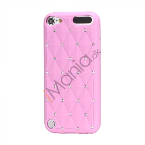 Smykkepræget Silicone Skin Case til iPod Touch 5 - Pink