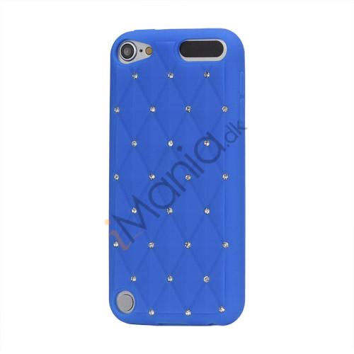 Smykkepræget Silicone Skin Case til iPod Touch 5 - Mørkeblå