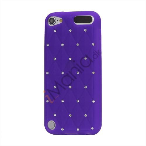 Smykkepræget Silicone Skin Case til iPod Touch 5 - Lilla