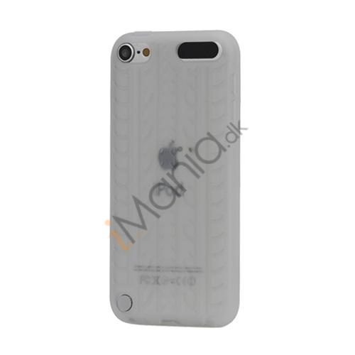 Dækmønster Silicone Cover til iPod Touch 5 - Gennemsigtig