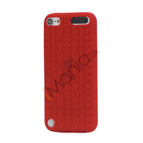 Image of   Dækmønster Silicone Cover til iPod Touch 5 - Rød