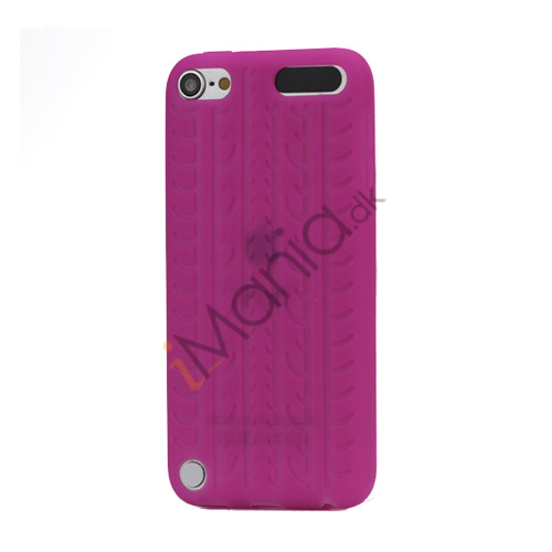 Image of   Dækmønster Silicone Cover til iPod Touch 5 - Rose