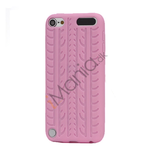 Dækmønster Silicone Cover til iPod Touch 5 - Pink