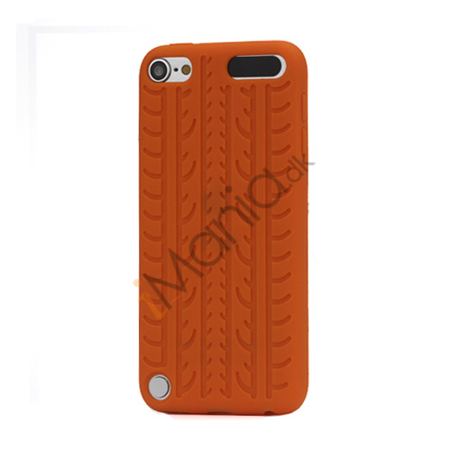 Image of   Dækmønster Silicone Cover til iPod Touch 5 - Orange