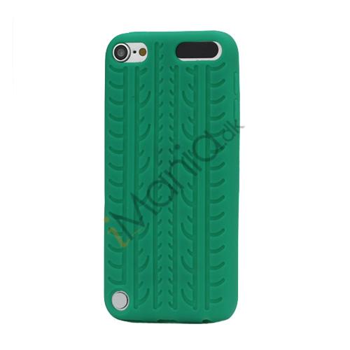 Image of   Dækmønster Silicone Cover til iPod Touch 5 - Grøn