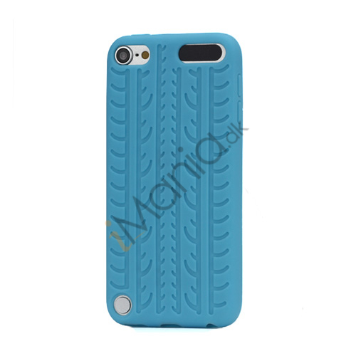 Image of   Dækmønster Silicone Cover til iPod Touch 5 - Baby Blue