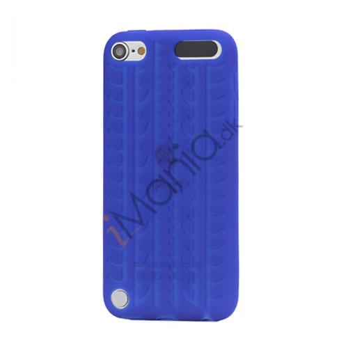 Dækmønster Silicone Cover til iPod Touch 5 - Mørkeblå