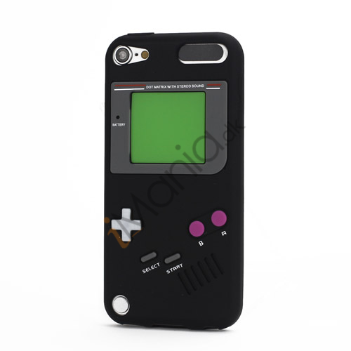 Image of   Retro Nintendo Game Boy Silikone Case Cover til iPod Touch 5 - Sort