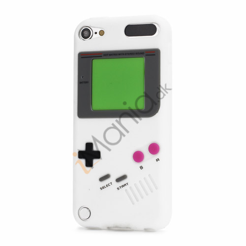 Image of   Retro Nintendo Game Boy Silikone Case Cover til iPod Touch 5 - Hvid