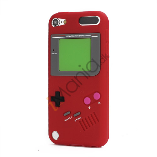 Image of   Retro Nintendo Game Boy Silikone Case Cover til iPod Touch 5 - Rød