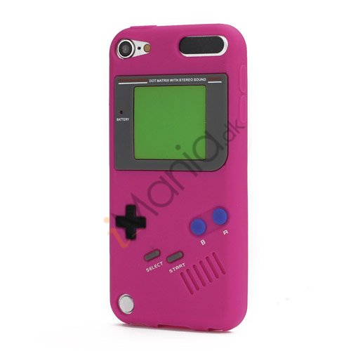 Image of   Retro Nintendo Game Boy Silikone Case Cover til iPod Touch 5 - Rose