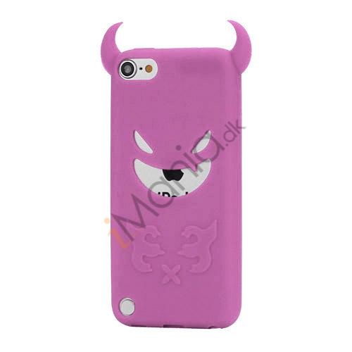 Djævel, blød Silikone Skin Case Cover til iPod Touch 5 - Pink