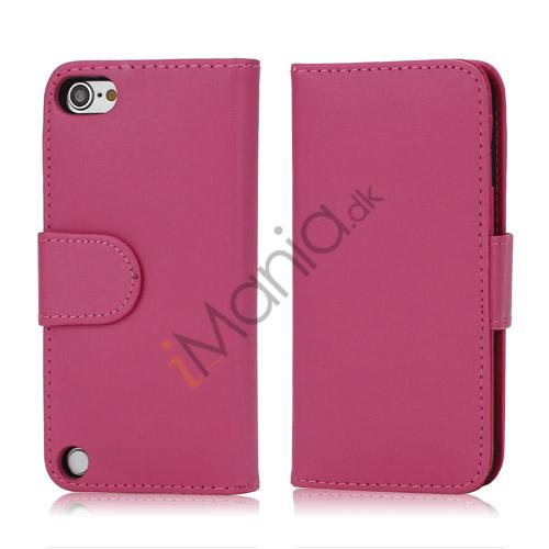 Magnetisk Kunstlæder Kreditkort tegnebog Cover til iPod Touch 5 - Rose