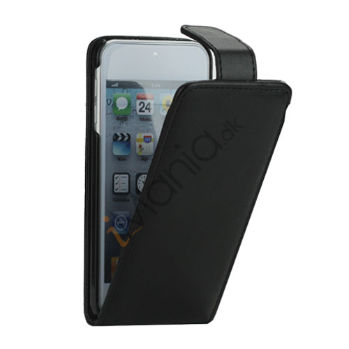 Image of   Magnetisk Lodret Læder Flip Case Cover til iPod Touch 5