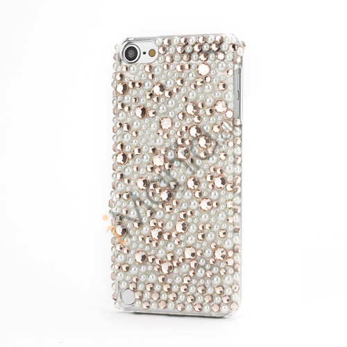Bling Bling Diamant Hard Cover Case til iPod Touch 5