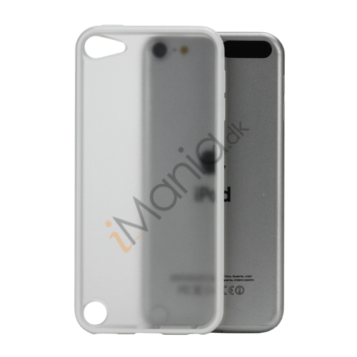 Blankt Hard Back Case til iPod Touch 5 med Soft TPU Kants - Hvid