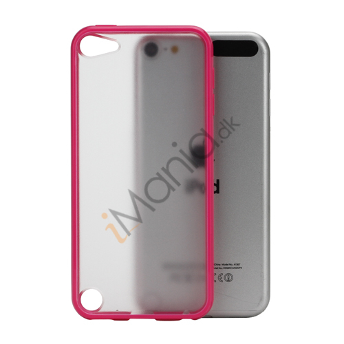 Image of   Blankt Hard Back Case til iPod Touch 5 med Soft TPU Kants - Rose