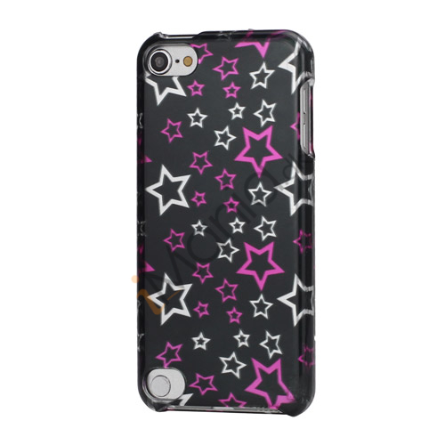 Image of   Femtakkede stjerne Snap-On Sleek Hard Back Case til iPod Touch 5