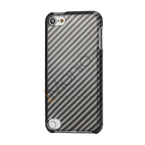 Image of   Gloosy Twill Grain Combo 2 i 1 Snap-On Hard Back Shell Cover til iPod Touch 5