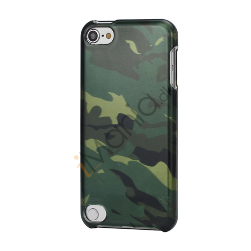 Camouflage Snap-On Combo Beskyttende Hard Case Cover til iPod Touch 5