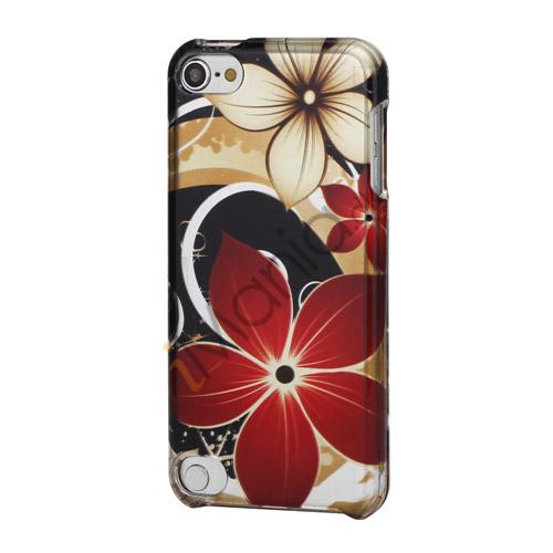 Temmelig Flower Glat Snap-On Hard Back Case til iPod Touch 5