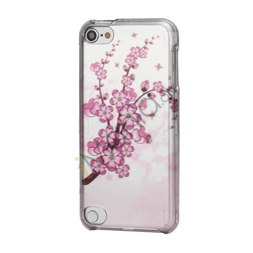Plum Blossom Snap-On 2 i 1 Beskyttelses Hard Case til iPod Touch 5