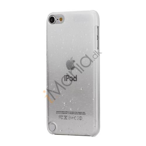 Cover med gradvist farveskift og regndråber Hard Case til iPod Touch 5 - Hvid