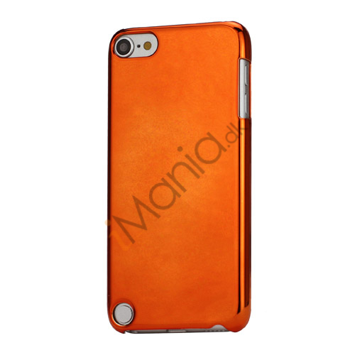 Spejleffekt Galvaniseret Blankt Hard Case Cover til iPod Touch 5 - Orange