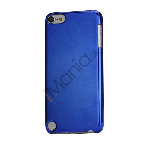 Spejleffekt Galvaniseret Blankt Hard Case Cover til iPod Touch 5 - Mørkeblå