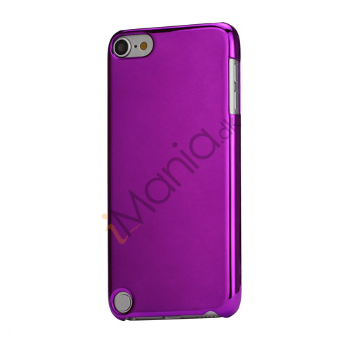 Spejleffekt Galvaniseret Blankt Hard Case Cover til iPod Touch 5 - Purple