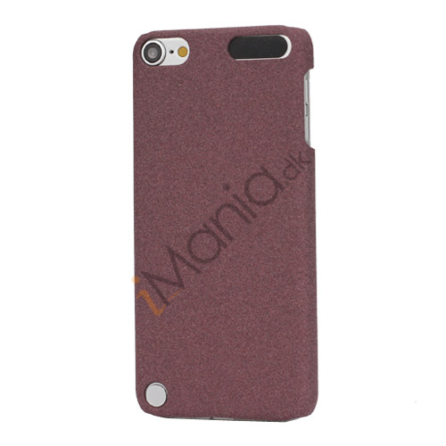 Quicksand hård plast Case Cover til iPod Touch 5 - Brown