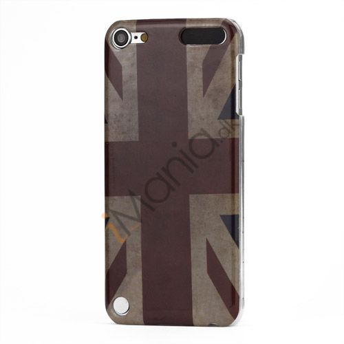 Vintage Union Jack Flag Beskyttende Plastic Case Cover til iPod Touch 5