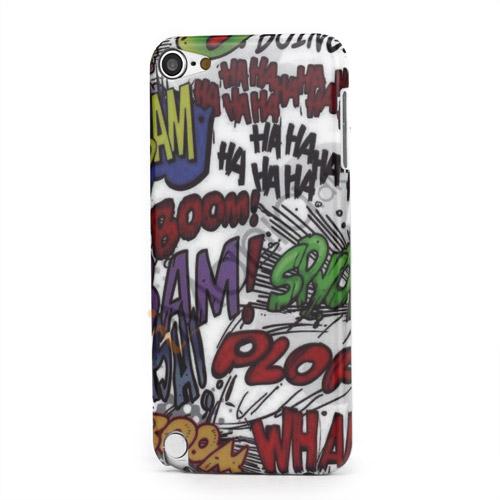 Haha Boom Doodle Blankt Hard Case til iPod Touch 5