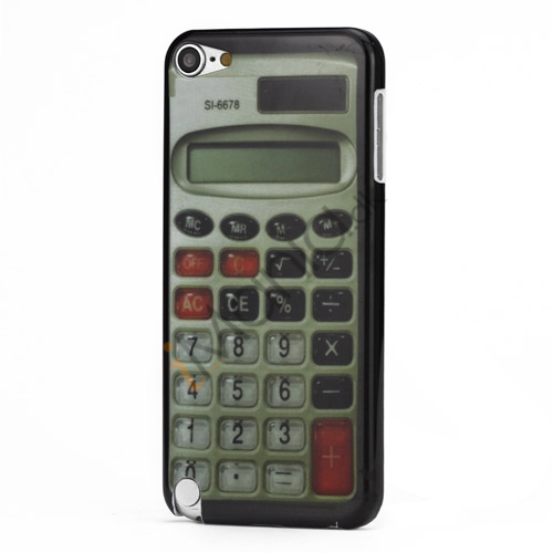 Vintage Calculator Beskyttende Plastic Case til iPod Touch 5