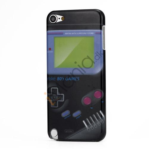Klassisk Nintendo Game Boy hård plast tilfældet til iPod Touch 5 - Sort