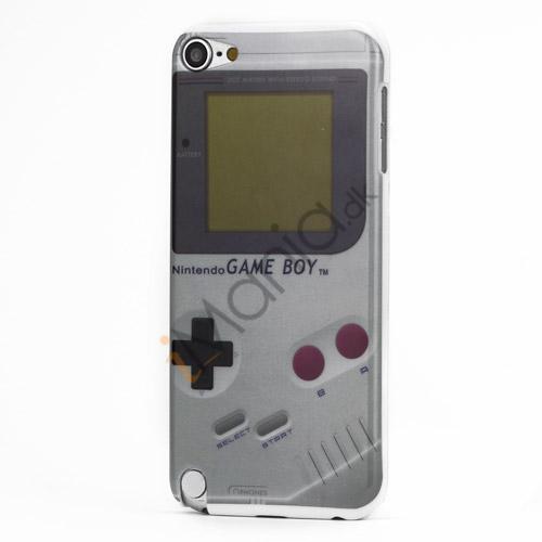 Klassisk Nintendo Game Boy hård plast tilfældet til iPod Touch 5 - Grå