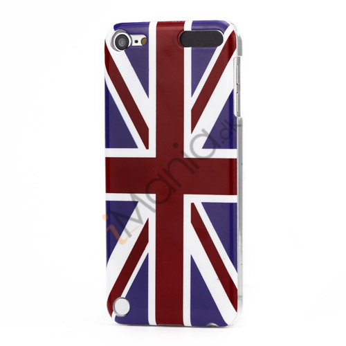 Union Jack Flag Hard Plastic Case til iPod Touch 5