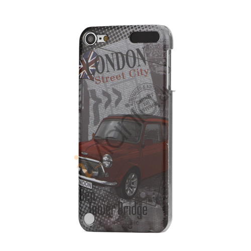 London Street By Blankt Beskyttende Hard Case til iPod Touch 5