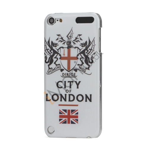 City of London Blankt hård plast tilfældet til iPod Touch 5