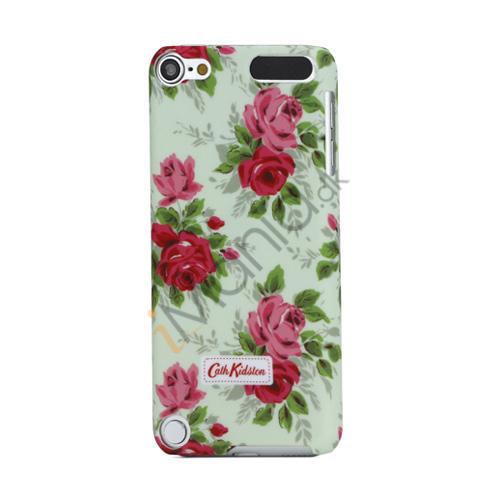 Flower mønster designet af Cath Kidston hård plast tilfældet til iPod Touch 5